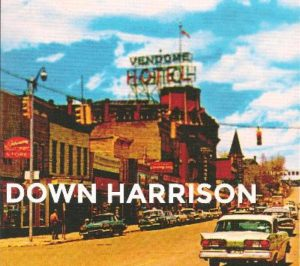 DOWN HARRISON